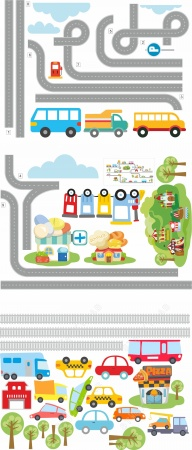 road-map-cars