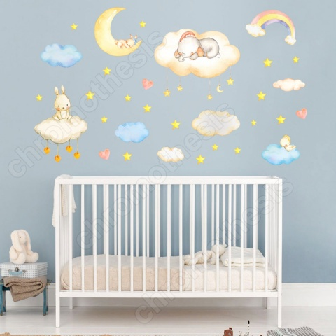 clouds-moon-elephant-sticke